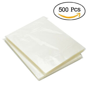 Thermal Laminating Pouches 500 Pack 3 Mil Heat Seal A4 Letter Size 9x11 5 Sheets