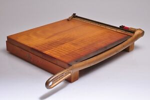 Vintage Ingento No 4 Guillotine Paper Cutter Trimmer 12 x12 Usa