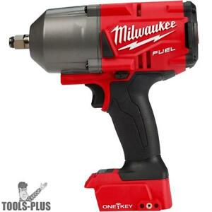 Milwaukee 2863 20 M18 One key Hi torque Impact 1 2 Fric Ring tool Only New