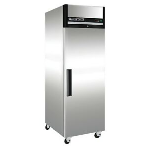 Maxx Cold Mxcf 23fd Commercial Nsf 1 One Door Reach In Upright Sub Zero Freezer