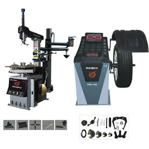 new Phoenix Tire Changer Pwc 2900a Wheel Balancer Pwb 1530a Combo For Sale