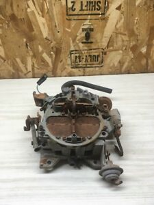 1979 Pontiac 6 6 403 Rochester Carburetor Trans Am 17059253 Carb