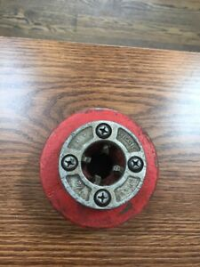 Ridgid Pipe Threading Equipment 1 2 R12 Hand Die