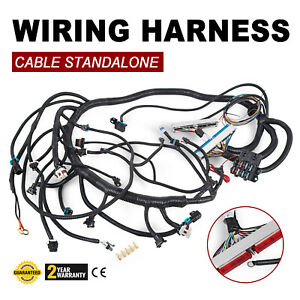 97 02 Dbc Ls1 Standalone Wiring Harness With T56 Non electric Trans Replace