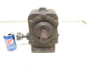 Foote Bros 3 hgs Speed Reducer Gear Box 48 1 Ratio Gearbox Input Rpm 1750