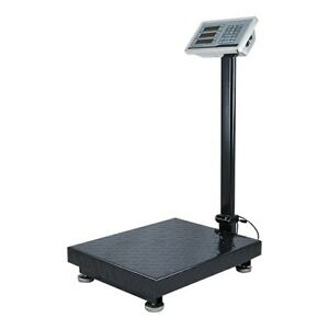 Industrial Platform Scale 600lb Digital Large Luggage Package Postal Shipping
