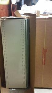 Lozier Industrial Gondola Shelving 48x15 One Case Each Containing 4 Shelves