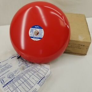 New Amseco Fire Alarm Gong Bell Msb 10b pv4 10 24 Vdc 0 03a