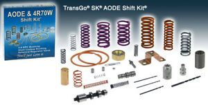 Ford Aode 4r70w Transmission Transgo Valve Body Shift Kit 1991 2008 Sk Aode
