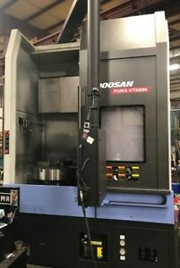 Doosan Puma Vt900m Vertical Cnc Installed 6 Months Ago Need To Sell