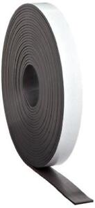Flexible Magnetic Tape 1 16 Thick X 1 Wide X 100 Feet 1 Roll