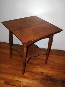 Quarter Sawn Oak Side Table Very Cool