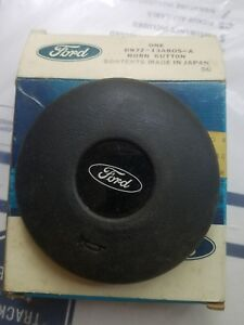 Nos Ford Rare 1979 82 Courier Truck Steering Wheel Horn Button
