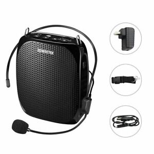 Mini Microphone Voice Amplifier Portable Wired Megaphone Mp3 Loud speaker Gym