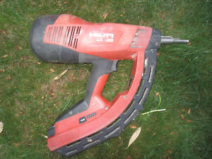 Hilti Gx120 Fastening Nail Gun Fully Automatic Gas Actuated Great Condition