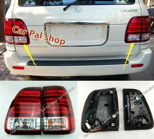 For Lexus Lx470 1998 2002 1 Set Left Right Side Led Tail Lights Rear Lamps