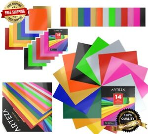 14 Pcs 10 x12 Heat Transfer Vinyl Set Flexible Easy To Weed Sheets Non toxic