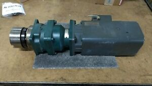 Siemens 1 Ft5072 0ac01 2 z Servo Motor With Gearbox