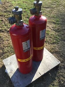 Ansul Spa 50 Chemical Agent Fire Suppression System Fire Extinguisher 50 Foray