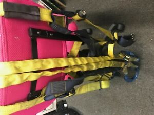 Dbi Sala Isafe Safety Harness W Lanyard 420lbs Model 1110600 Osha Approved