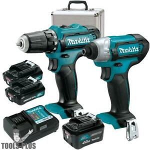 Makita Ct226rx 12v Max Li ion Cordless 2 piece 2 1 Batteries Combo Kit New