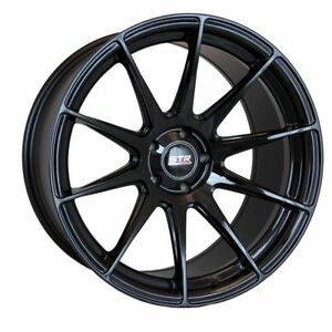 18x8 5 5x105 Str 902 Gloss Black Made For Chevy Cruze Sonic