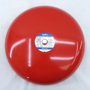 Used Amseco Fire Alarm Gong Bell Exb 10 a4 10 120vac 0 047a