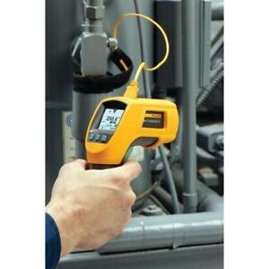 Fluke 561 Hvac Pro Infrared Ir Contact Thermometer Case Thermocouple