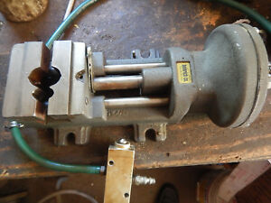 Heinrich Model 44 Air Pneumatic Drill Press Vise Lot A