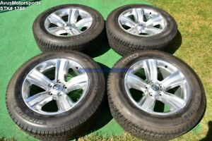 20 Dodge Ram 1500 Sport Oem Factory Polished Wheels Michelin Tires 2013 2014