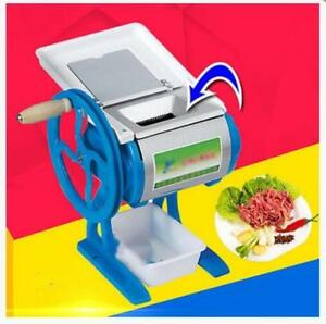 Meat Slicing Commercial Cutter Manual Cutting Machine Shredded Household Grinder