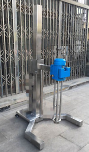 High Shear Mixer 2 2kw Disperser Emulsifying Machine Electric Lifting Basement T