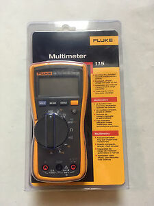 New Fluke Model 115 Digital Multimeter Dm115
