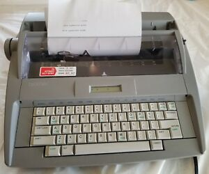 Brother Sx 4000 Electronic Typewriter With Cover And New Ribbon