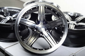 17 Wheels Fit Subaru Outback Camry Civic Rav4 Accord Kia Soul Forte Black Rims