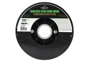 Kiswel Flux Core 71tgs 030 Gasless E71tgs Mig Wire 1 Roll 10 Ib Each Us Made