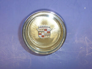 1963 1964 Cadillac Steering Wheel Horn Button Center Cap gold Sct5