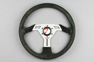 Authentic Rare Tom S 360mm Suede Steering Wheel Rare Jdm Trd
