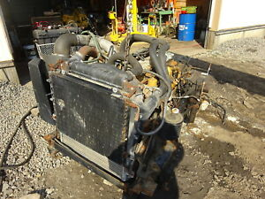 Caterpillar 3116e Diesel Engine Runs Good Frame Cut W Allison At545 Cat 3116