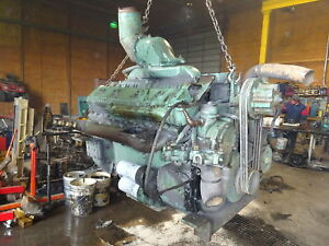 Detroit Diesel 12v71 Engine Runs Exc Clean V12 71 Series Gm Industrial