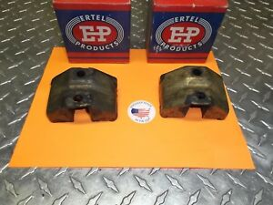 1937 To 1947 Chevrolet Truck 1 2 34 1 Ton New Rear Motor Mounts Set Of 2 3702198