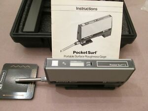 Federal Pocket Surf Portable Surface Roughness Gage Stand Standard Case