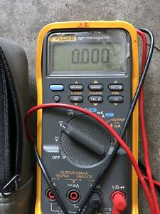 Fluke 787 Process Meter Digital Multimeter Free Shipping Worldwide