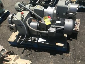 Fristam Fkl 75positive Displacement Pump 3 Inch