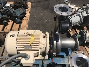 Waukesha Cherry Burrell Sanitary Centrifugal Model 2105 6 5x6 5