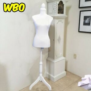 Female Solid White Mannequin Dummy Home Decor Accents Decorative Accessories New