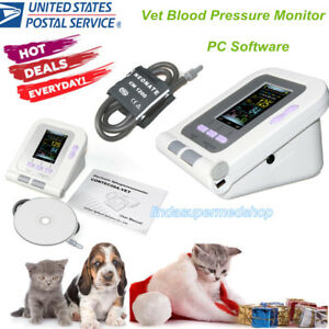 Usa Contec08a vet Digital Veterinary Blood Pressure Monitor pc Software Cat dog