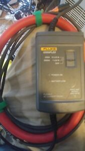 Fluke I2000 Flex Ac Current Probe Very Good Condition