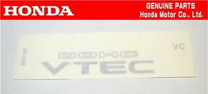 Honda 91 96 Prelude Ba bb Rear Vtec Dohc Sticker Decal Jdm Oem