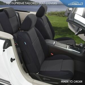 Coverking Custom Tailored Front Neosupreme Seat Covers For Ford Mustang